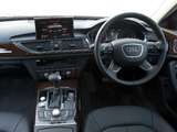 Photos of Audi A6 2.0 TDI S-Line Sedan AU-spec (4G,C7) 2011