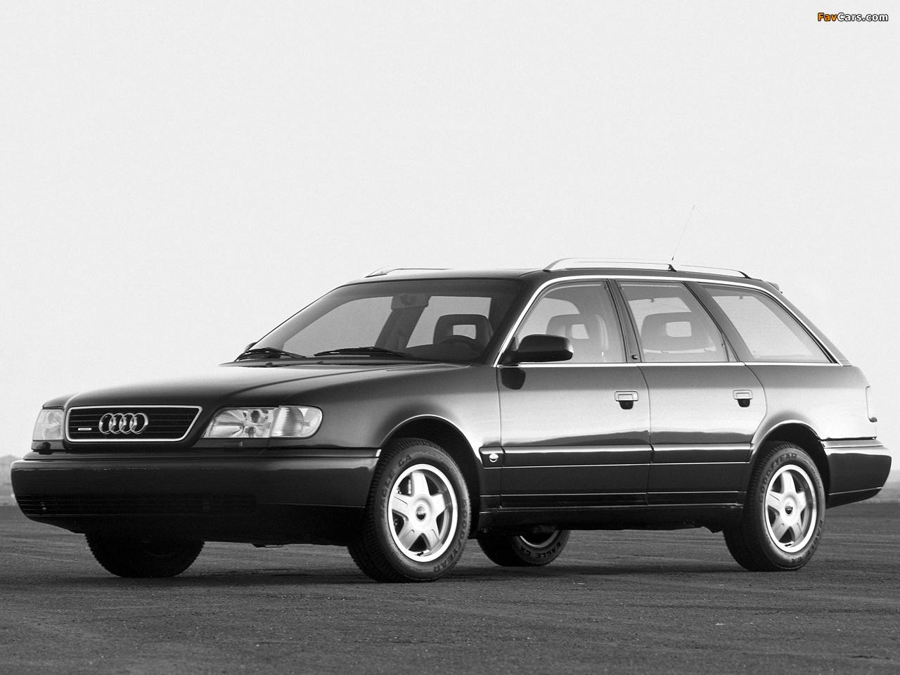 Pictures Of Audi A6 Avant Us Spec 4a C4 1994 97 1280x960
