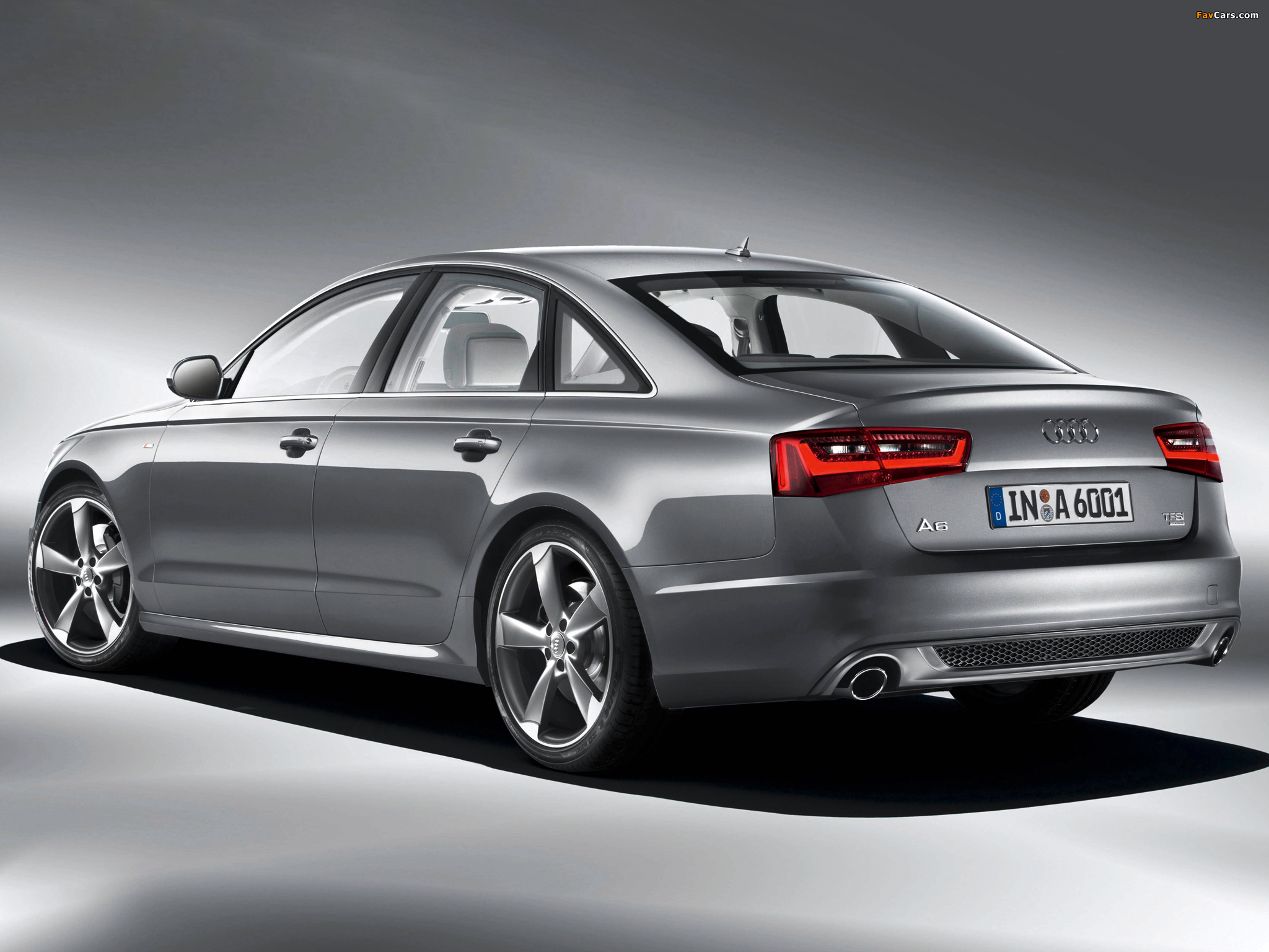 Pictures Of Audi A6 3 0t S Line Sedan 4g C7 2011 2048x1536
