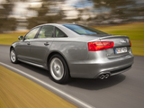 Audi A6 2.0 TDI S-Line Sedan AU-spec (4G,C7) 2011 wallpapers