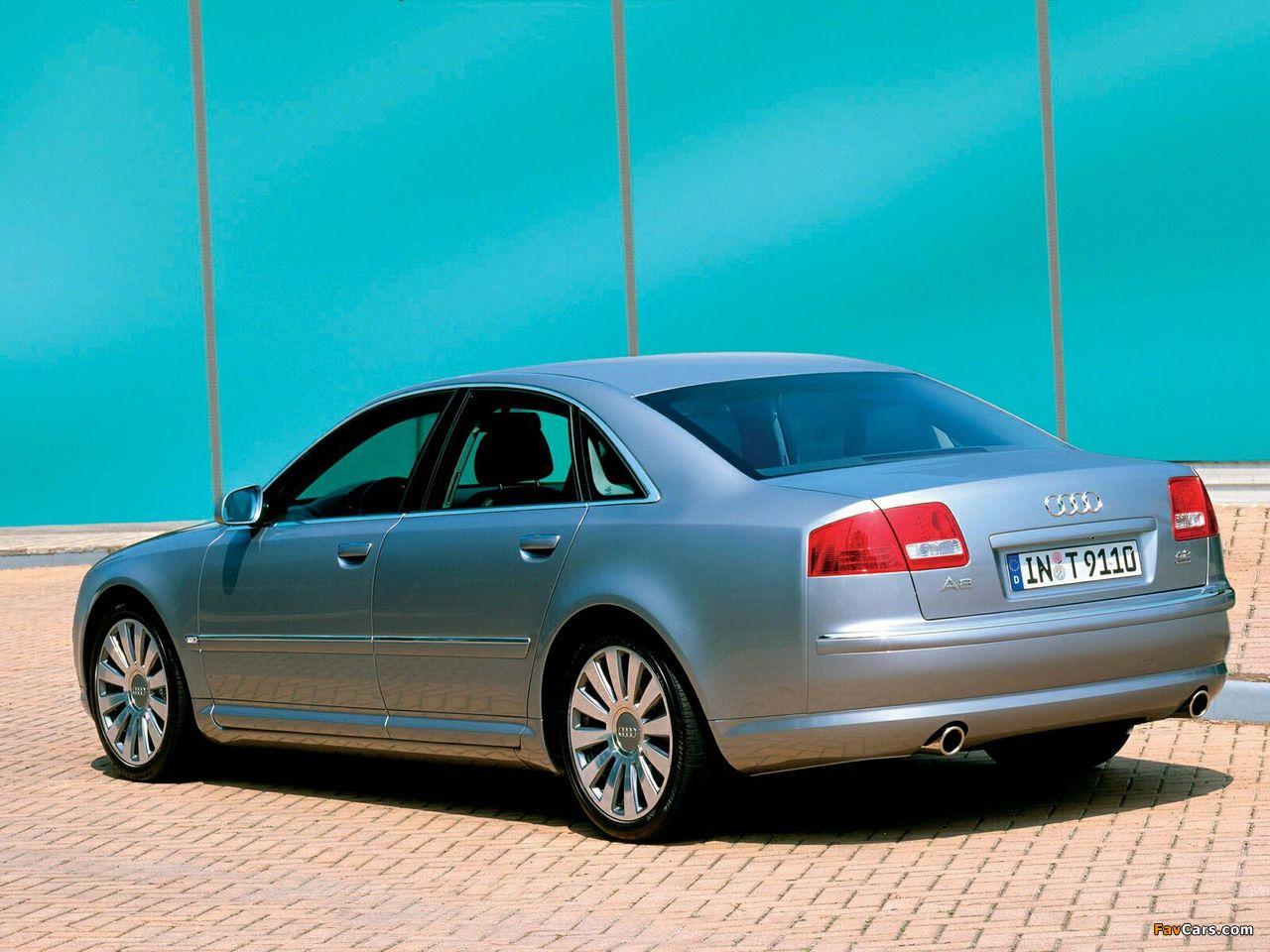 Audi A8 4 2 Quattro D3 2003 05 Wallpapers 1280x960