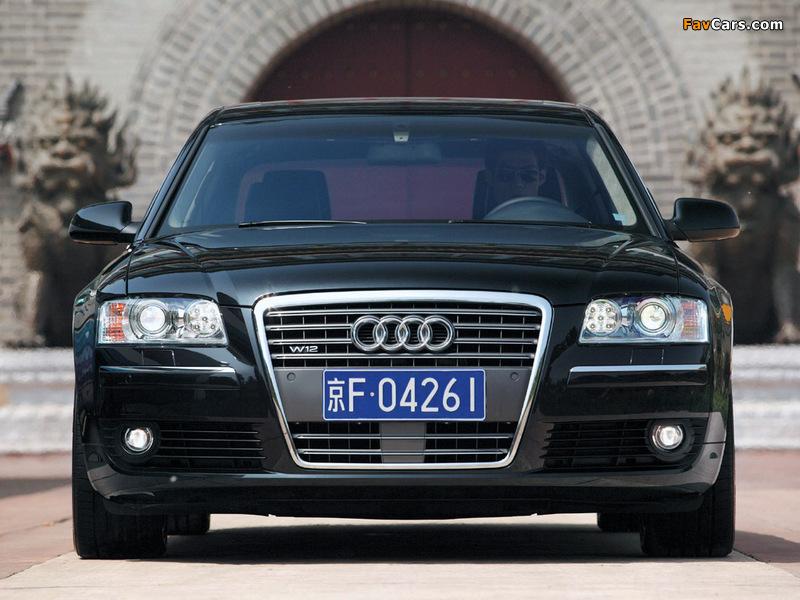 Audi A8l 6 0 Quattro D3 2005 08 Pictures 800x600