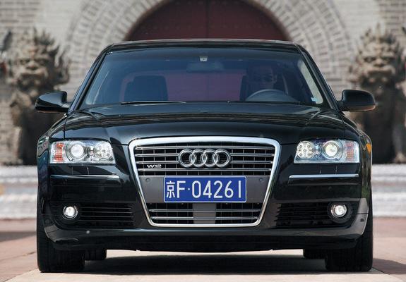 Audi A8l 6 0 Quattro D3 2005 08 Pictures 640x480