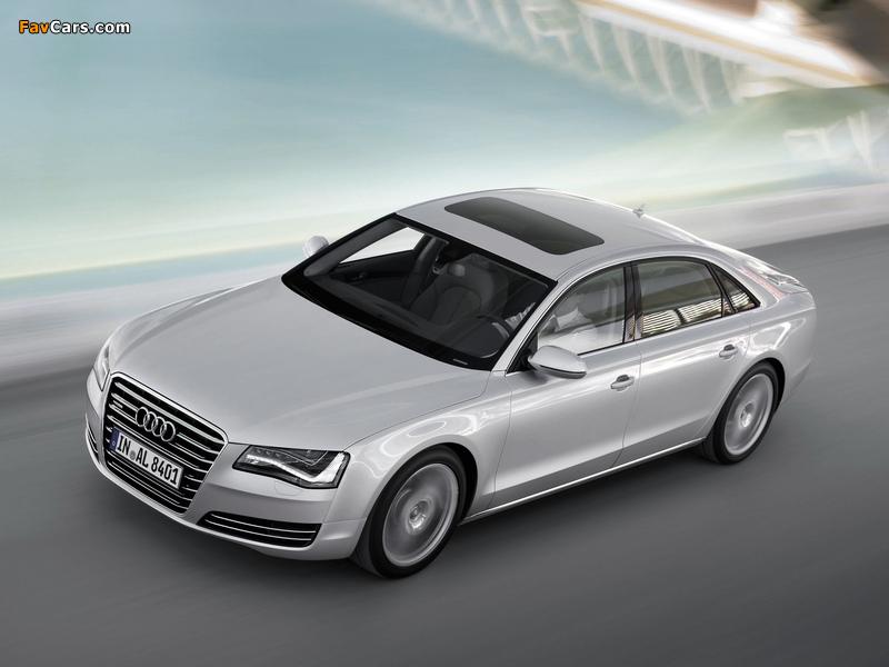 Audi A8l Tfsi Quattro D4 2010 Pictures 800x600
