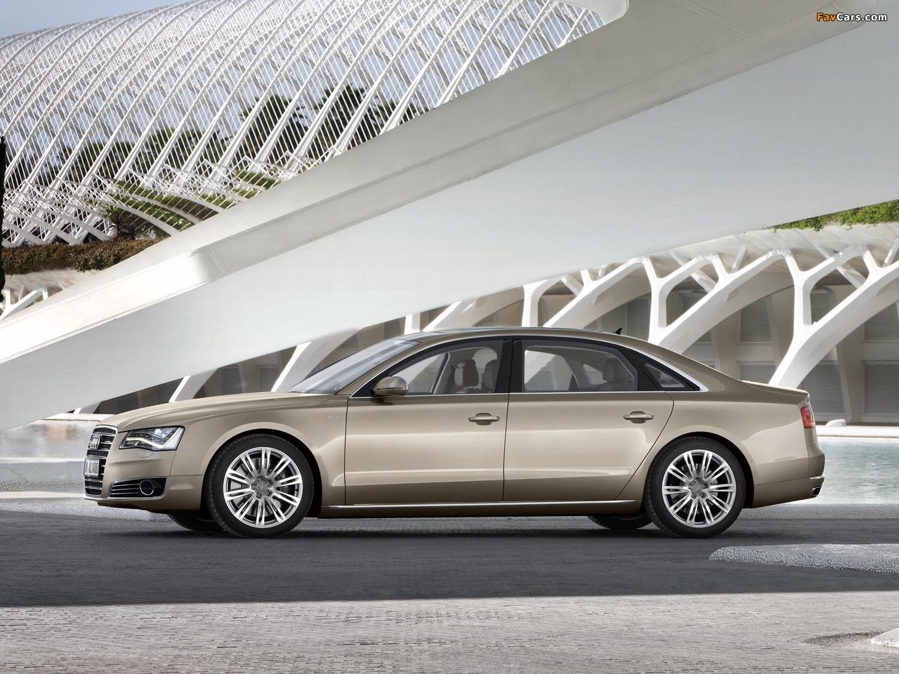 Audi A8l W12 Quattro D4 2010 Pictures 1280x960