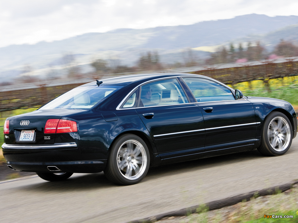 Pictures Of Audi A8l W12 Quattro Us Spec D3 2008 10