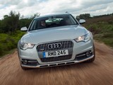 Audi A6 Allroad 3.0 TDI quattro UK-spec (4G,C7) 2012 pictures