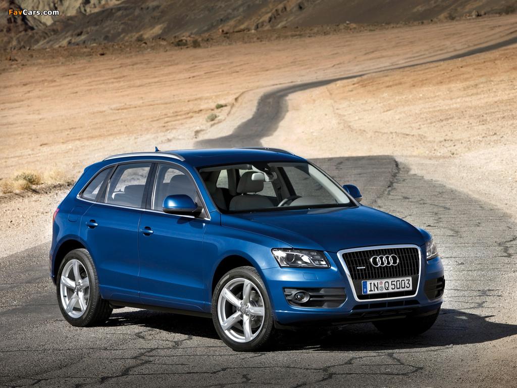 Audi Q5 2 0t Quattro 2008 Images 1024x768