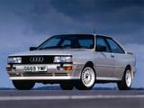Photos of Audi Quattro UK-spec (85) 1987–91