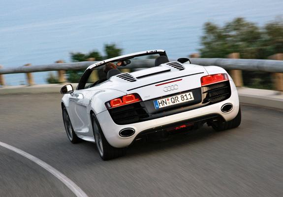 Download / Preview - Images of Audi R8 V10 Spyder 2009