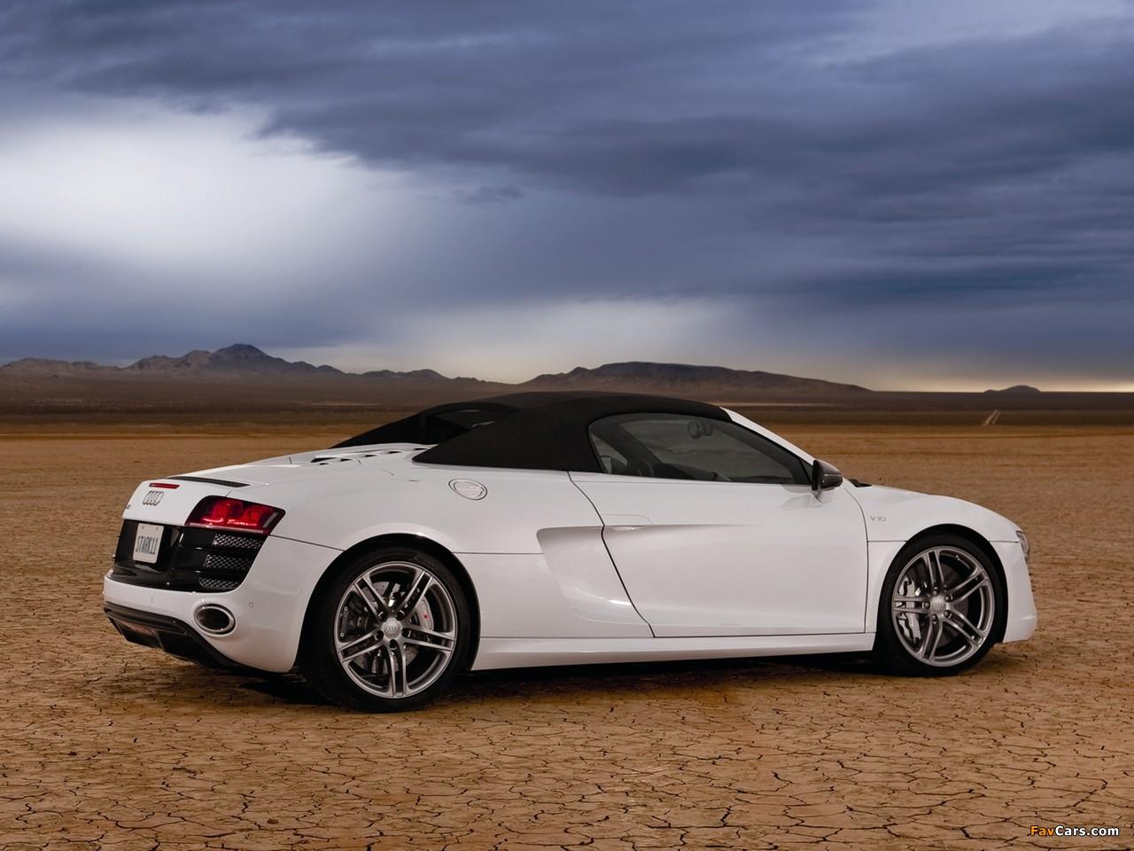 Pictures Of Audi R8 V10 Spyder Us Spec 2010 1280x960
