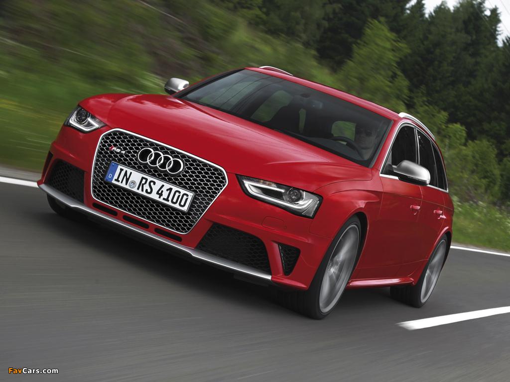 Audi Rs4 Avant B8 8k 2012 Pictures 1024x768