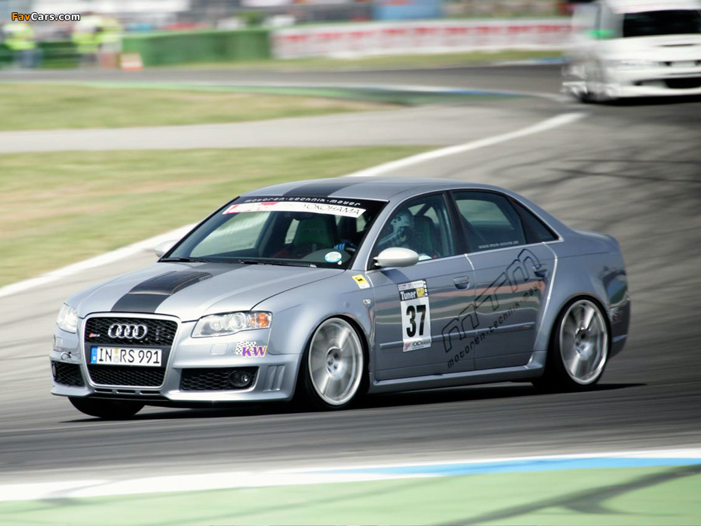 Wallpapers Of Mtm Audi Rs4 Clubsport B7 8e 2007 1024x768