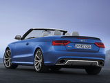Photos of Audi RS5 Cabriolet 2012