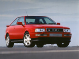 Photos of Audi S2 Coupe UK-spec (89,8B) 1990–96