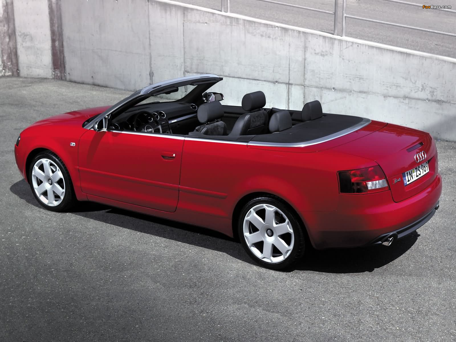 audi s4 cabrio b6 8h 2002 05 images 1600x1200. Black Bedroom Furniture Sets. Home Design Ideas