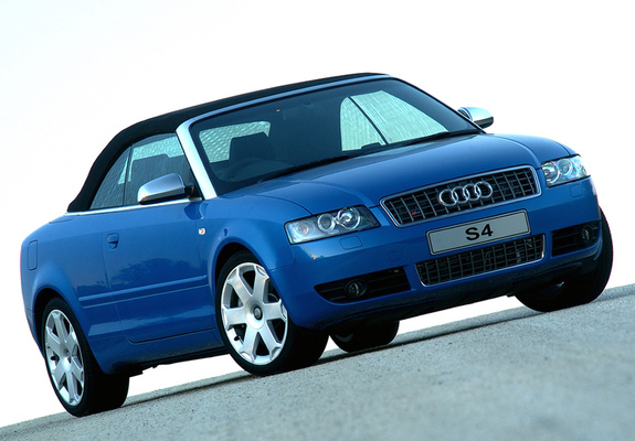 audi s4 cabrio za spec b6 8h 2002 05 pictures. Black Bedroom Furniture Sets. Home Design Ideas