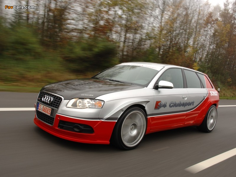 Wallpapers Of Mtm Audi S4 Avant Clubsport B7 8h 2007 800x600