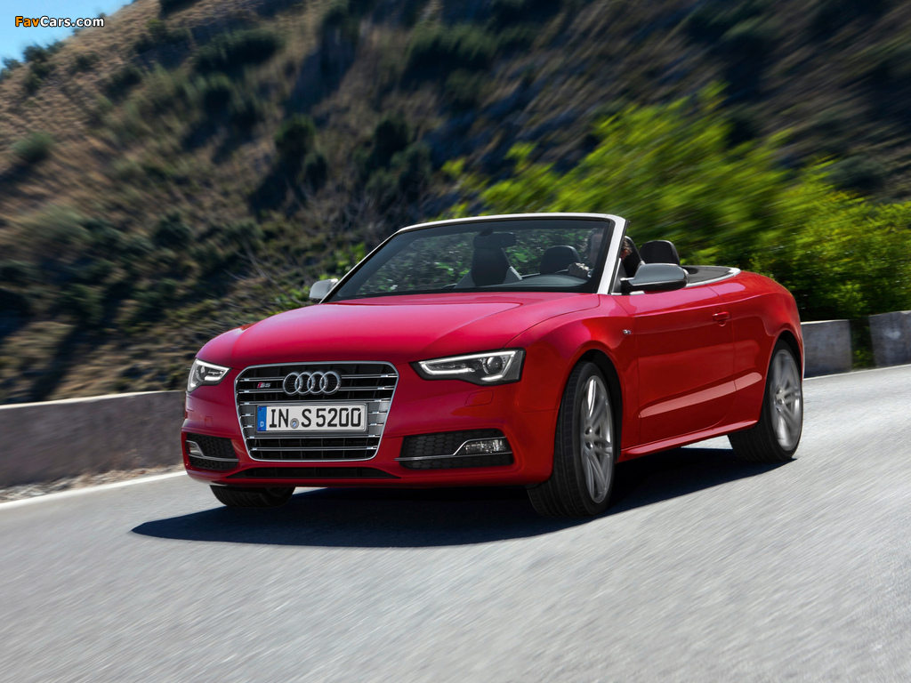 Audi S5 Cabriolet 2011 Wallpapers 1024x768