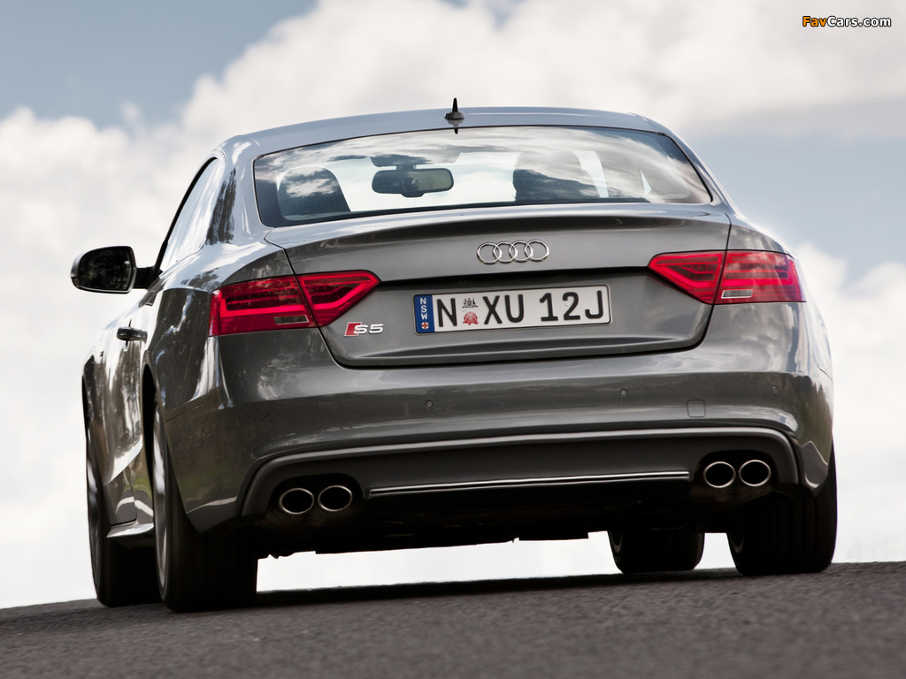 Wallpapers Of Audi S5 Coupe Au Spec 2012 1024x768