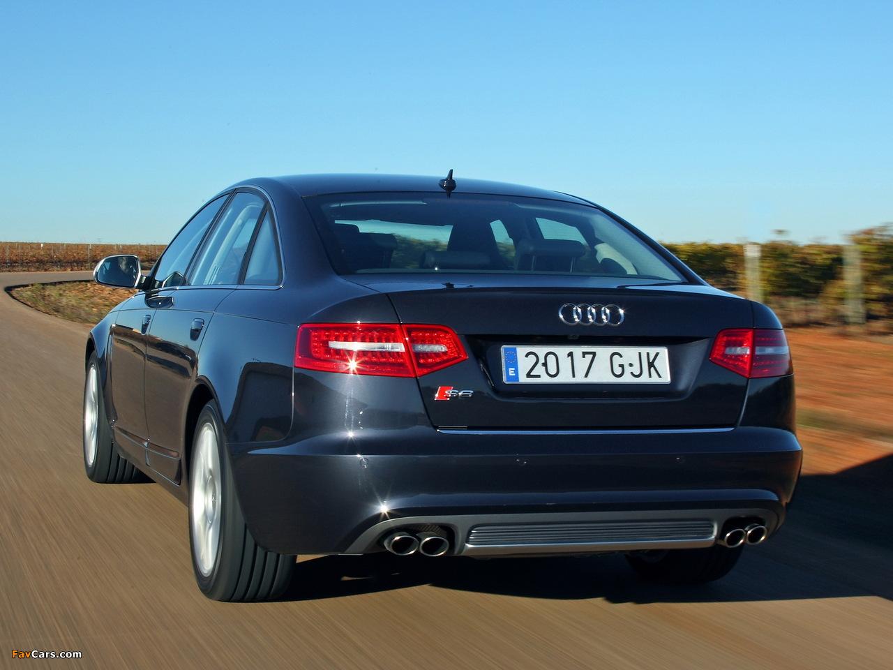 Images Of Audi S6 Sedan 4f C6 2008 1280x960