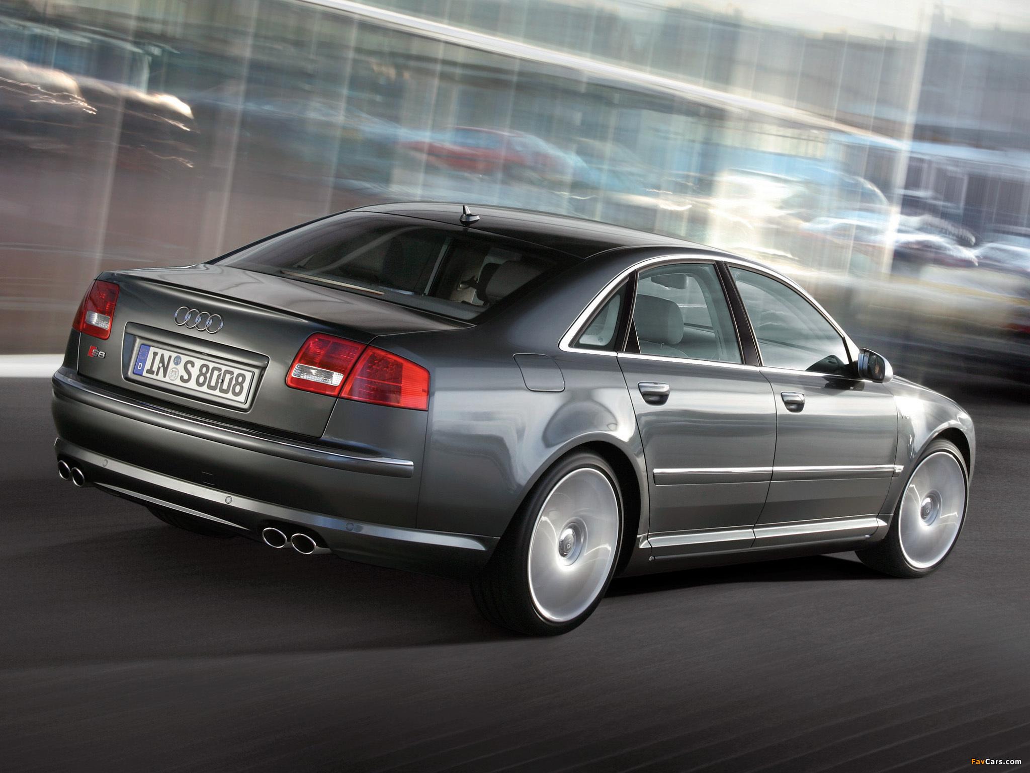 Audi S8 D3 2005 08 Images 2048x1536