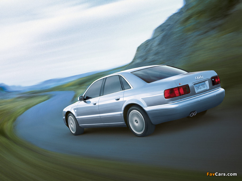 Wallpapers Of Audi S8 D2 1996 99 800x600