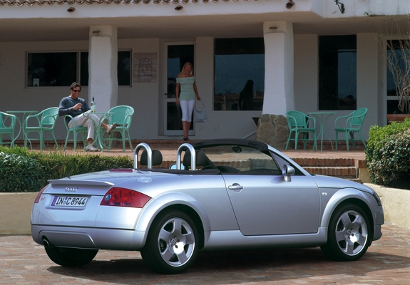 Audi Tt Roadster 8n 1999 2003 Wallpapers 1024x768