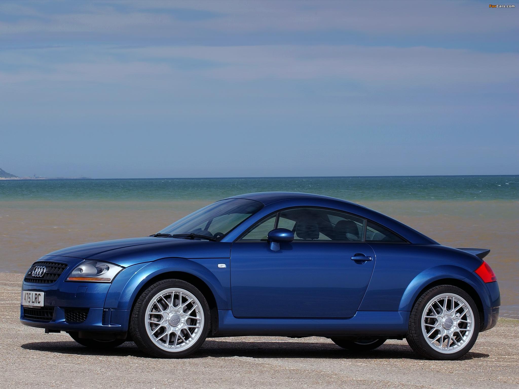 Audi Tt 3 2 Quattro Coupe Uk Spec 8n 2003 06 Images