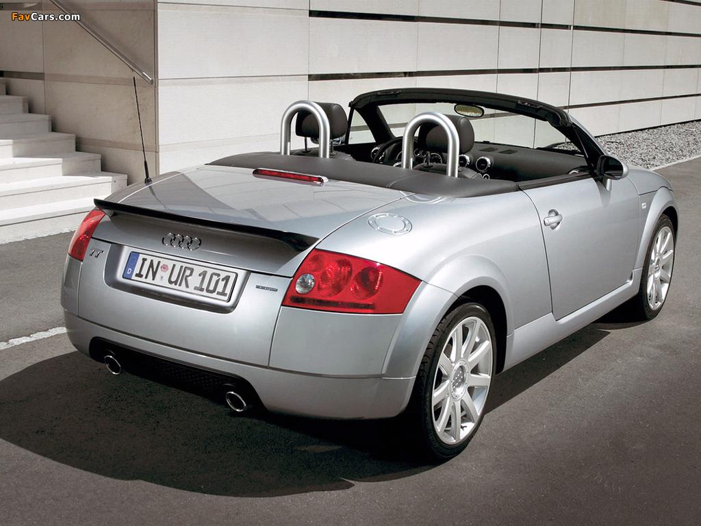 Audi Tt 3 2 Quattro Roadster 8n 2003 06 Images 1024x768
