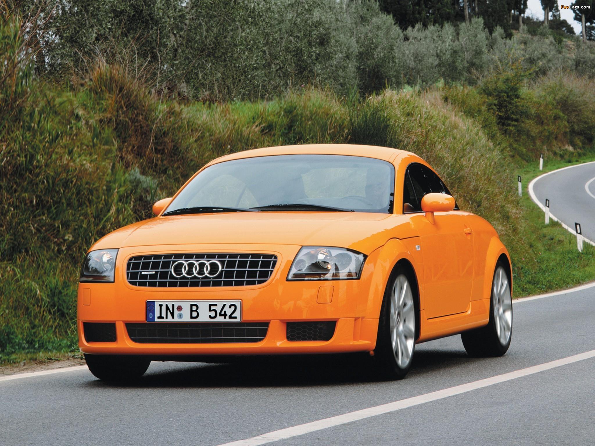 Audi Tt 3 2 Quattro Coupe 8n 2003 06 Pictures 2048x1536