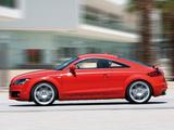 Audi TT S-Line Coupe (8J) 2007–10 pictures