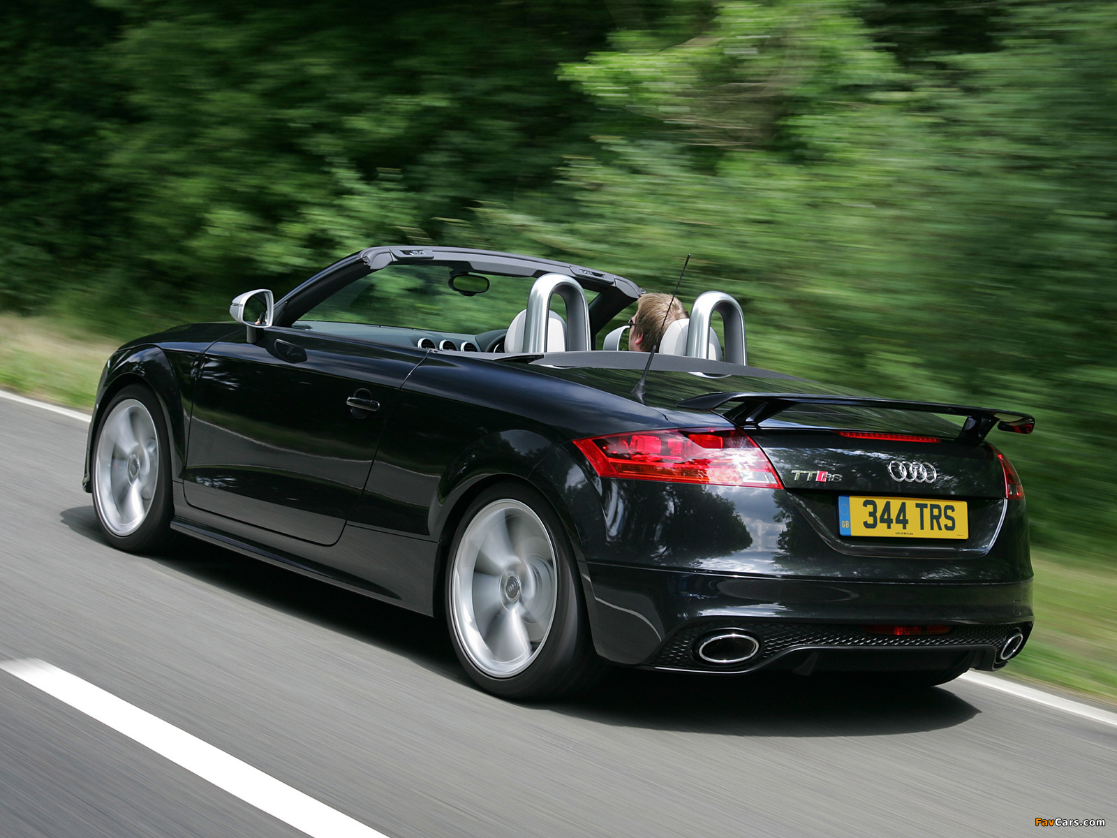 Audi Tt Rs Roadster Uk Spec 8j 2009 Photos 1600x1200