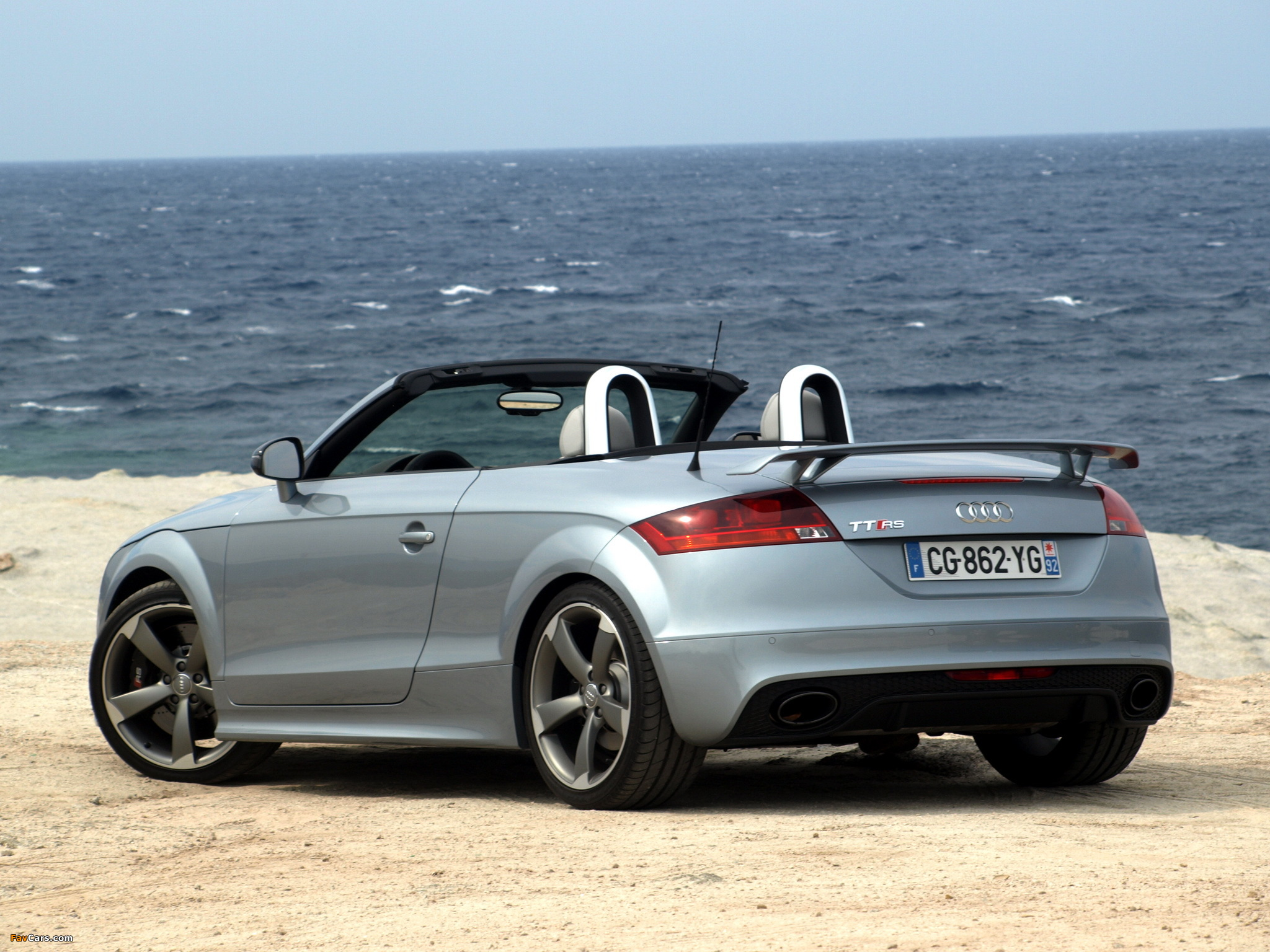 audi tt rs roadster 8j 2009 pictures 2048x1536. Black Bedroom Furniture Sets. Home Design Ideas