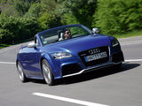 Audi TT RS Roadster (8J) 2009 pictures