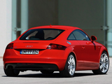 Images of Audi TT S-Line Coupe (8J) 2007–10