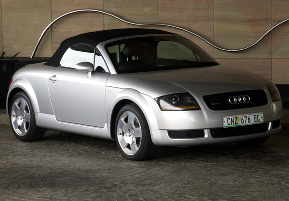 pictures of audi tt roadster za spec 8n 1999 2003. Black Bedroom Furniture Sets. Home Design Ideas