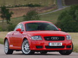 Pictures of Audi TT 3.2 quattro Coupe UK-spec (8N) 2003–06