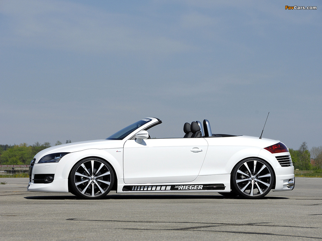 Pictures Of Rieger Audi Tt Roadster 8j 2007 10 1024x768