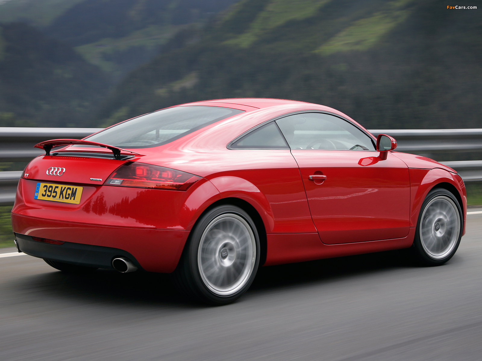 Wallpapers Of Audi Tt Coupe Uk Spec 8j 2006 10 1600x1200
