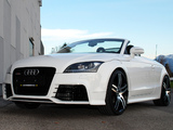 Wallpapers of O.CT Tuning Audi TT RS Roadster (8J) 2010