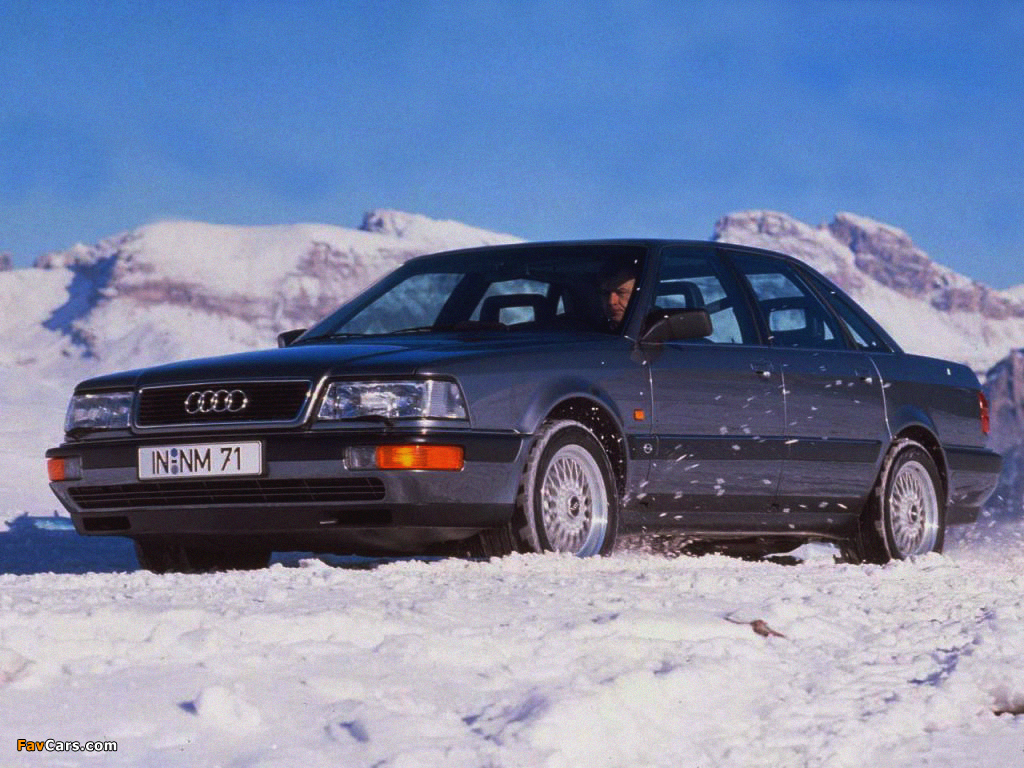 Wallpapers Of Audi V8 1988 94 1024x768