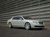 Project Kahn Bentley Continental Flying Spur Pearl White Edition 2009 images