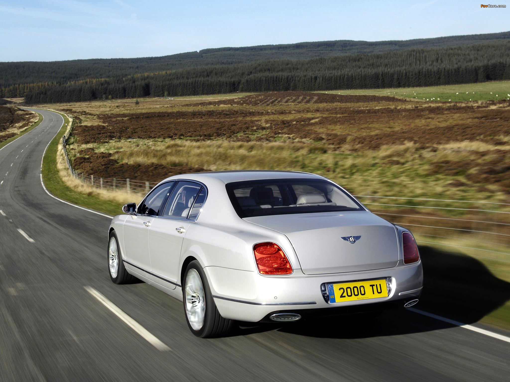 Pictures of Bentley Continental Flying Spur Speed 2008 (2048 x 1536)