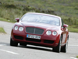 Bentley Continental GT 2003–07 pictures