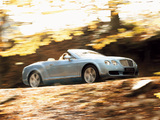 Bentley Continental GTC 2006–08 wallpapers