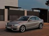 BMW 220d Coupé Modern Line (F22) 2014 photos