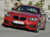 BMW M235i Coupé (F22) 2014 wallpapers