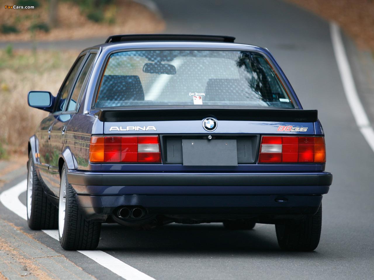 Alpina B6 3.5 Coupe (E30) 1985–90 pictures (1280x960)