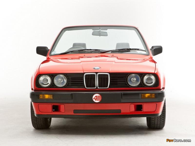 BMW 318i Cabrio UK-spec (E30) 1990–93 photos (800x600)